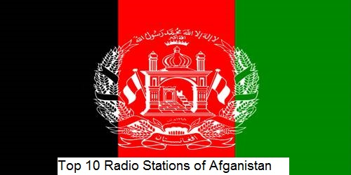 Top 10 Radio Stations of Afghanistan