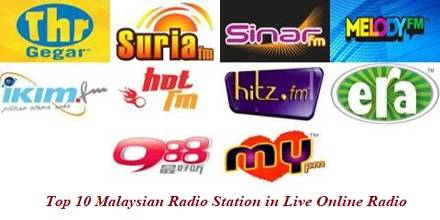 Top 10 Malaysian Radio Station in Live Online Radio