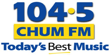 104.5 CHUM FM – Today's Best Music